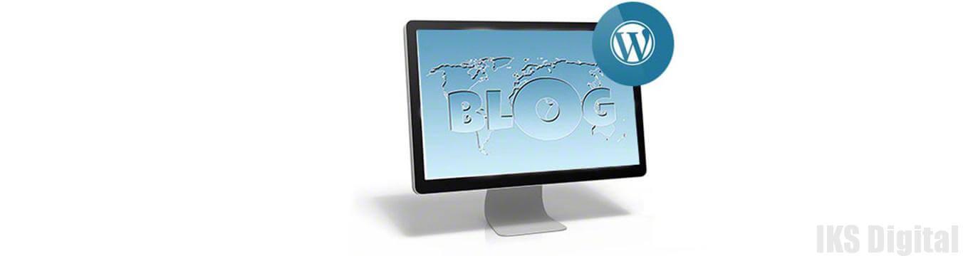 создание блога на wordpress